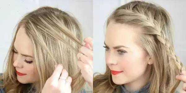 发型| 17套快手教程,教你折腾出7款简单易学又百搭的发型图片
