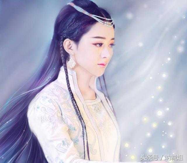 赵丽颖古装手绘好美,仙的不要不要的,看一眼就爱上了!