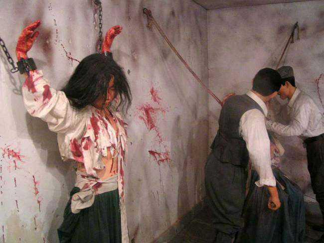 日本轮奸_令人发指!日本曾在朝鲜犯下如此兽行,真是人神共愤!