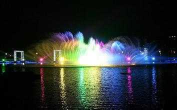苏州湾音乐喷泉水舞秀 10月开放时间在这里图片