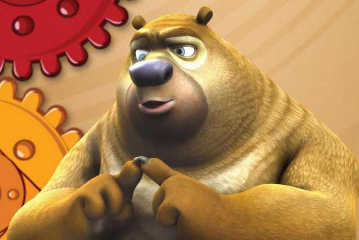 熊二憨厚可爱熊二,是动画片《熊出没》系列的主角,是一头憨厚,可爱,搞