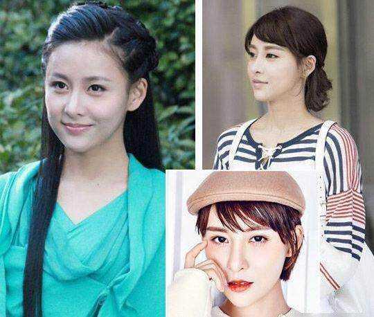 赵丽颖 林心如 贾青 唐艺昕 长短发对比哪款更美
