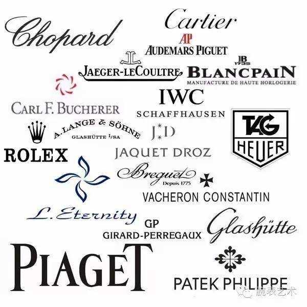 着名手表品牌logo设计赏析 世界名表品牌logo设计介绍