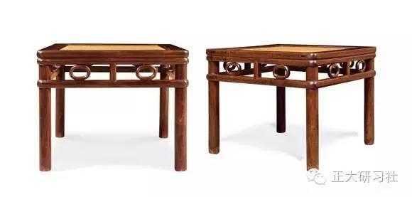 古代方桌矢量图