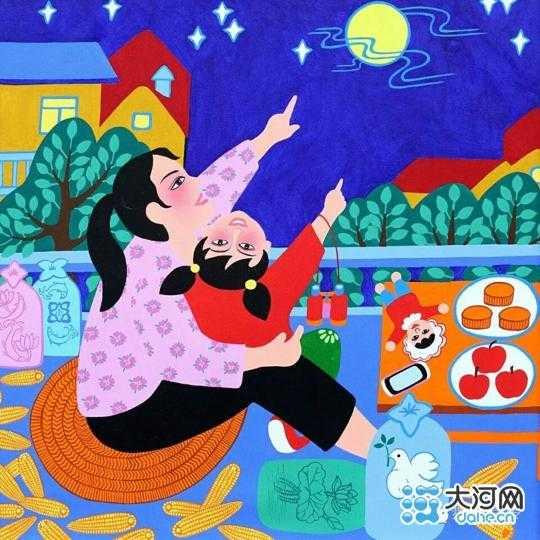 舞阳13幅农民画入选第十一届中国艺术节 画风质朴纯真图片