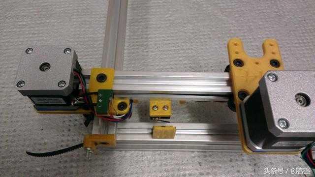 diy一个3000毫瓦的2轴激光雕刻机