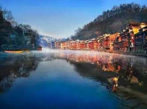 旅游 文章详情  中华大地风景如画,特别是一些独特倒影中国风,让人