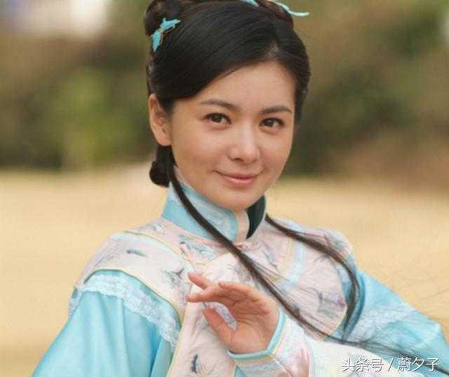韩国女星张瑞希在中国演的三部都是古装剧,这张剧照是在《庚子风云》