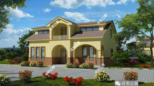 既不是平房也不算是二層小樓,一層半的戶型在農村自建房中還是不多見