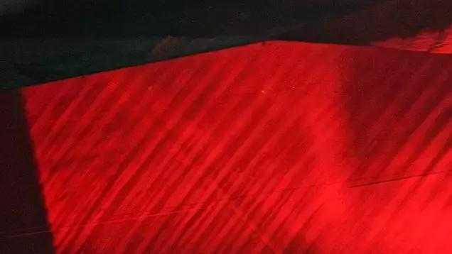 梦涟漪 天然红宝石中的弧形生长纹
