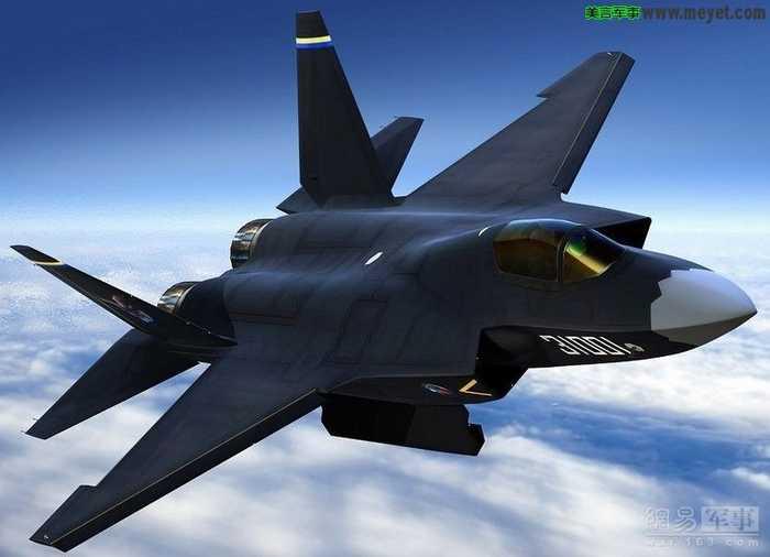 波束控制理论设计飞机的外形和全向矢量发动机尾喷口