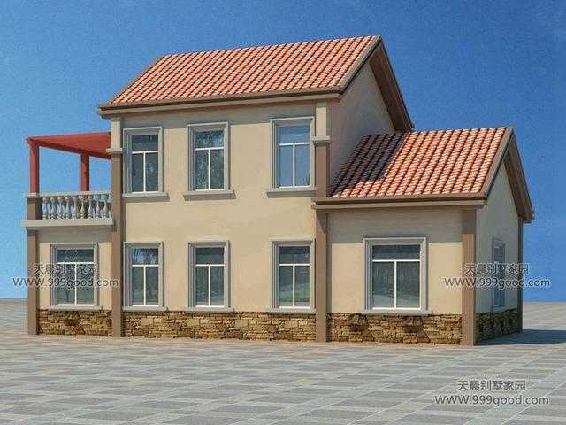 两层经济实用的农村自建房,看看这两套!(含设计图)图片