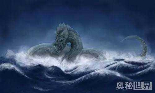 尘世巨蟒!远古神话中的怪物