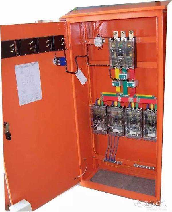 配电箱一级,二级,三级定义以及接线图