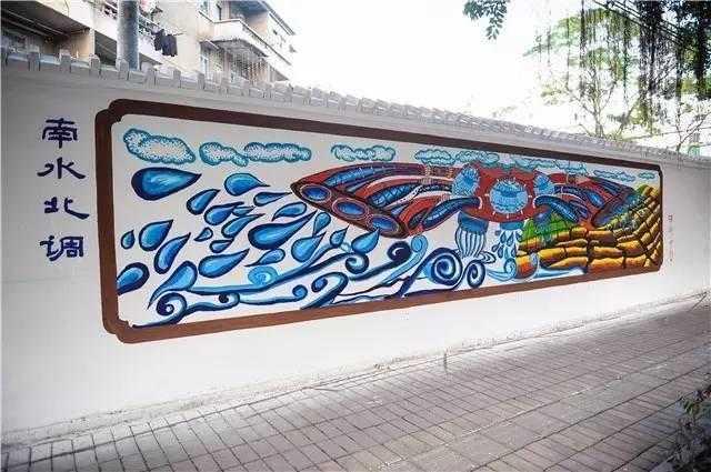 中学画城市步骤图片
