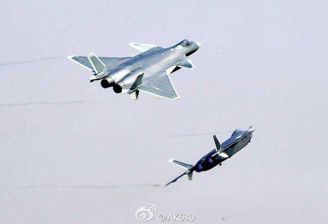 j20服役 中国速度再次警告特朗普