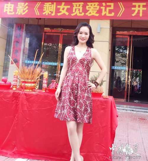 性感女神吴海棠主演电影《剩女觅爱记》即将上映