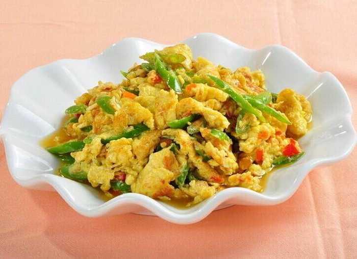 四,青椒炒鸡蛋