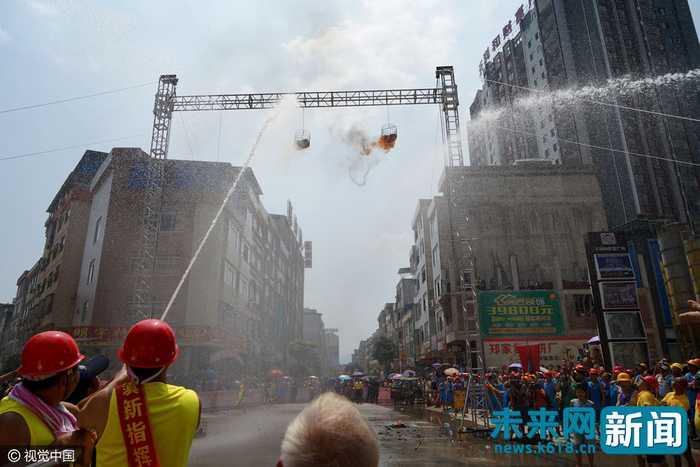 贵港平南地�_广西贵港:平南大安举办消防节
