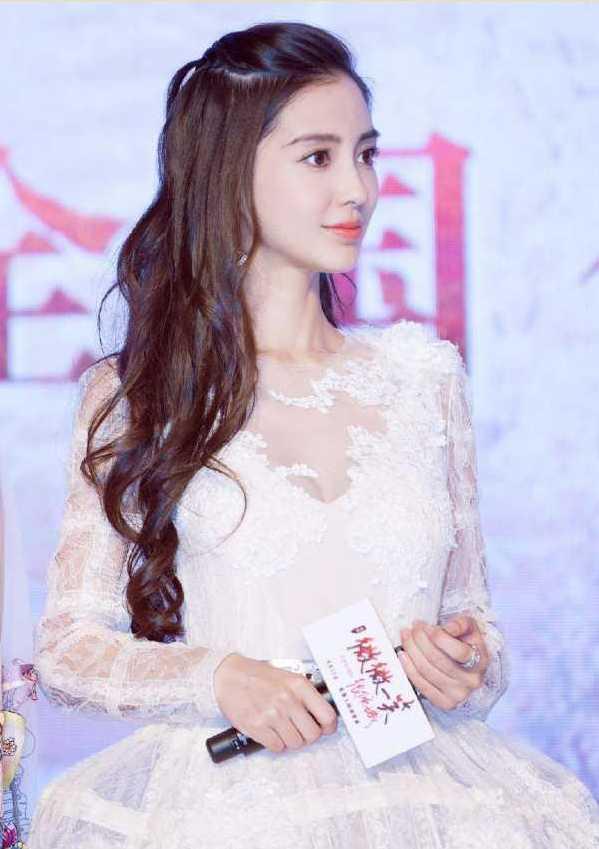 赵丽颖仙女手绘图