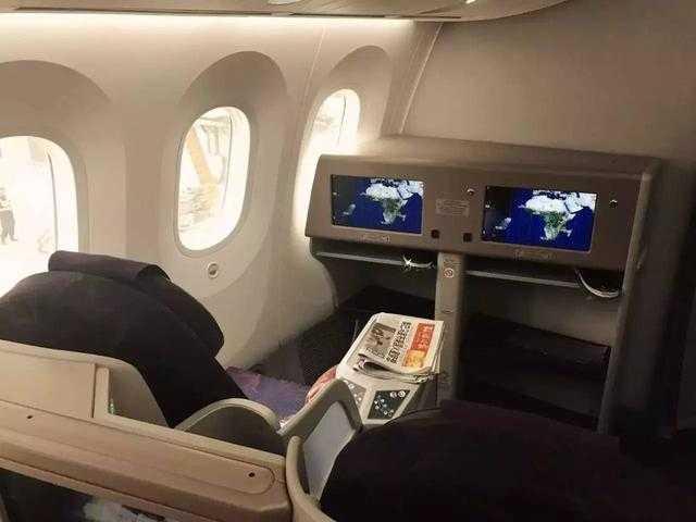 文章详情  如果你有搭乘过国内或者ana的787,你会觉得他们家的商务舱