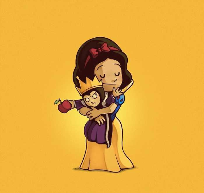 8.白雪公主与坏皇后.
