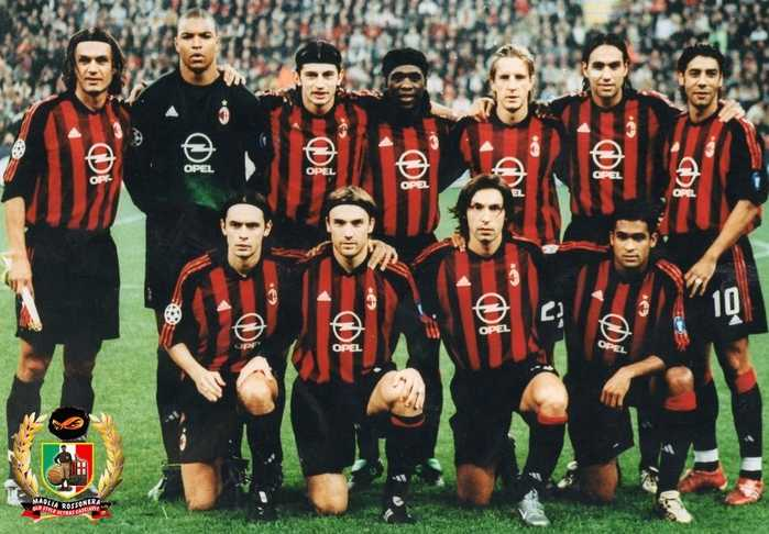 ac米蘭2002-03賽季首發陣容4圖(文字資料由本人備注)圖片