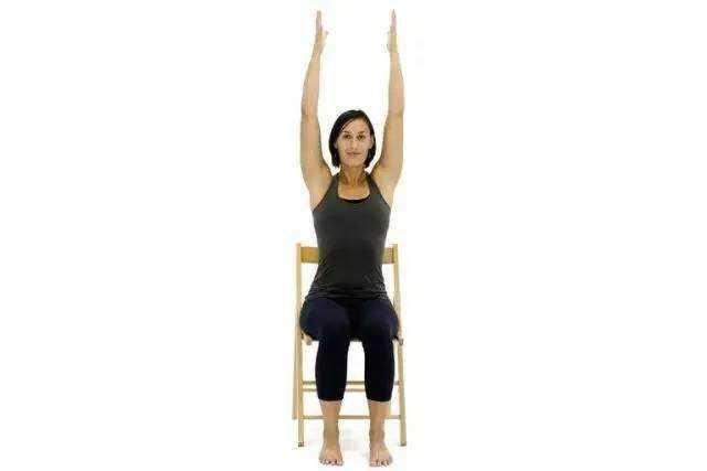 10个在办公室就能完成的椅子瑜伽体式,送给上班族图片