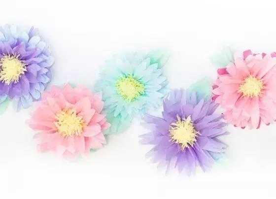 各种剪花朵图片步骤