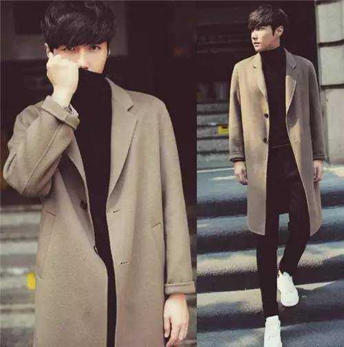街头范男生欧美风格服装搭配