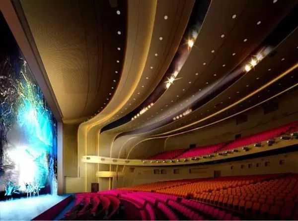 青岛东方影都大剧院封顶亮相 将惊艳全球