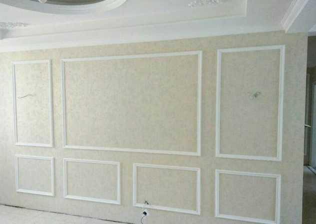 客厅pu线条效果图