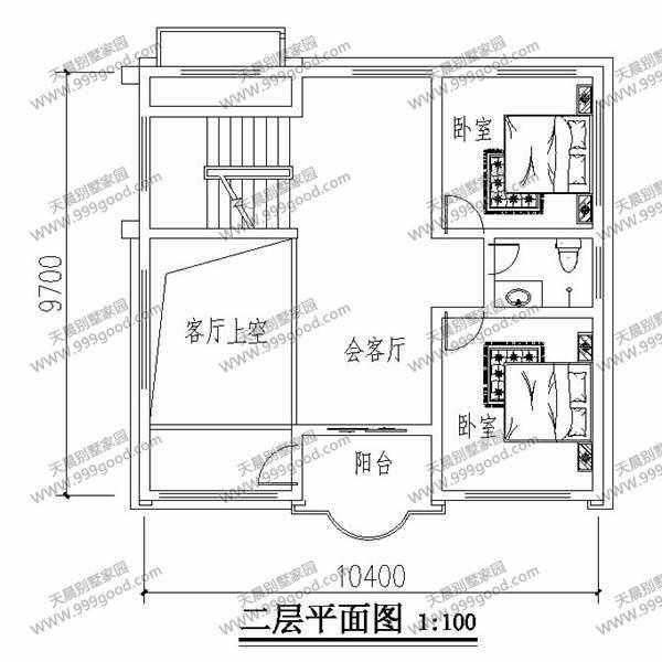 农村三层自建别墅设计图