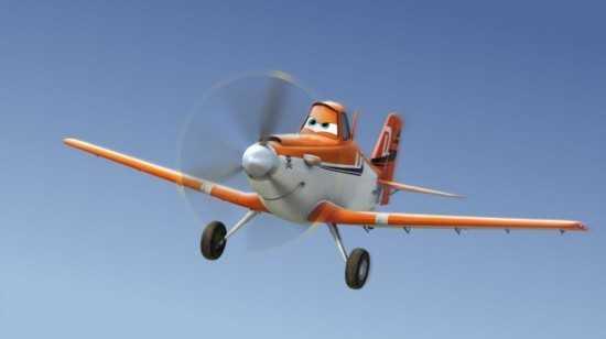 迪斯尼动画《飞机总动员》宣传海报