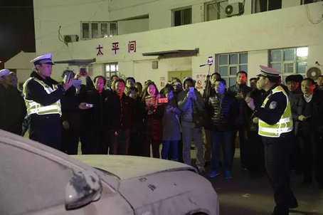天津交警抓酒驾司机去太平间醒酒 遭女子连扇3耳光