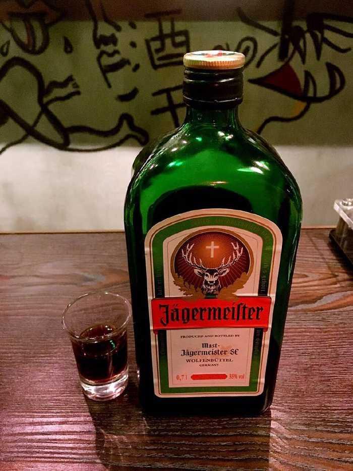 能够舒缓胃痛的利口酒之野格图片