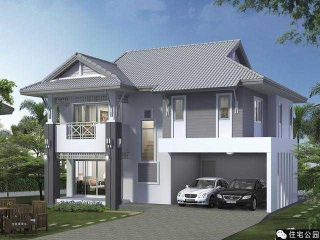 农村2层别墅12x9.5米,经济适用