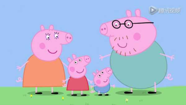 猪妈妈_她和弟弟乔治,以及猪爸爸猪妈妈生活在一起.