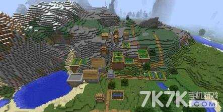 巨型村庄种子_我的世界豪华大村庄种子大全分享