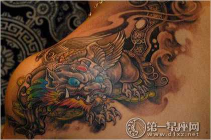 纹貔貅好吗?貔貅纹身禁忌有哪些图片