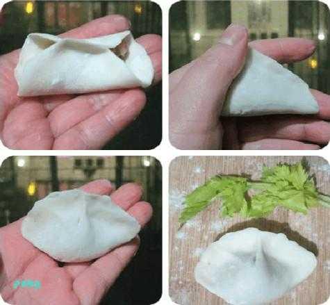 饺子的朋友一眼就能看明白如何包出不同花样的饺子来