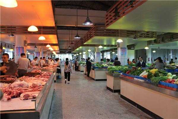 屯溪中心城区农贸市场室内改造提升工程全面完工图片