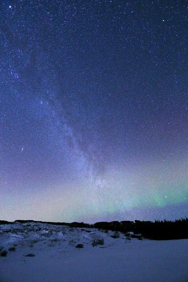 冰岛冬天日照时间短