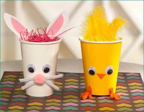 【亲子】创意手工——纸杯里的动物世界