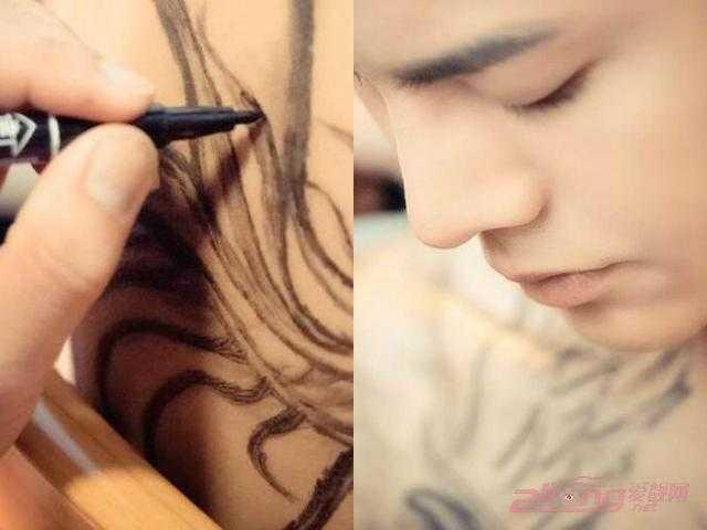 """陈伟霆纹身图逐个看,告诉你""""等等""""纹身含义是什么图片"""