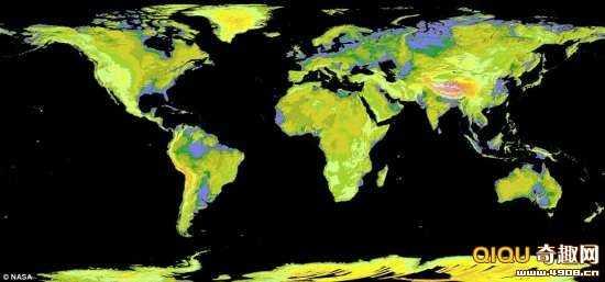 [图文]迄今世界上最完整的卫星地图