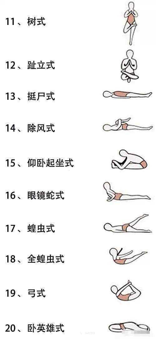 """国民女神""""高圆圆教你练习26个高温瑜伽体式!赶紧学起来图片"""
