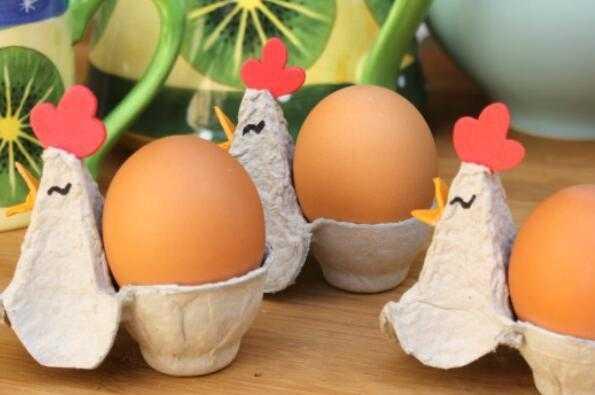 蛋盒手工制作图片大全
