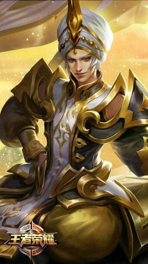 王者荣耀手游 众英雄皮肤与原画比较 是不是没有描述中的帅