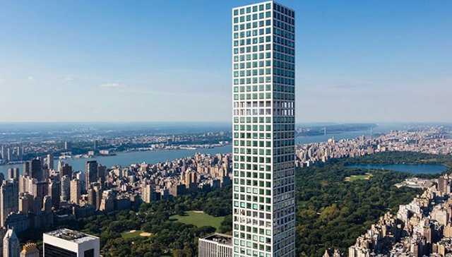 著名的纽约公园大道432号公寓你一定不陌生,作为西半球最高的住宅楼它图片